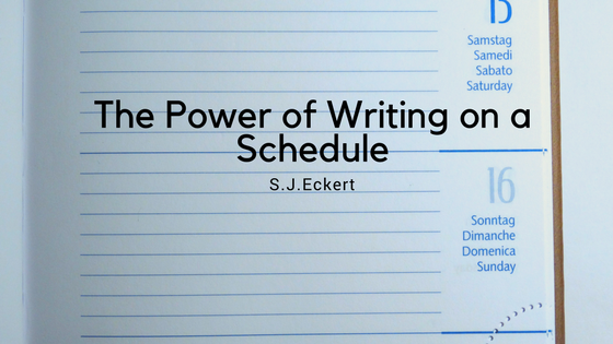 The Power of Writing on a Schedule