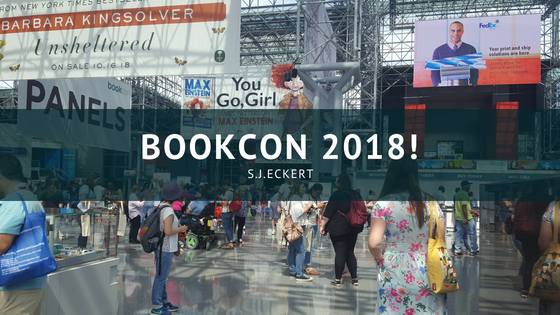 What I Did at Bookcon 2018