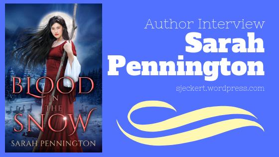 Author Interview: SarahPennington