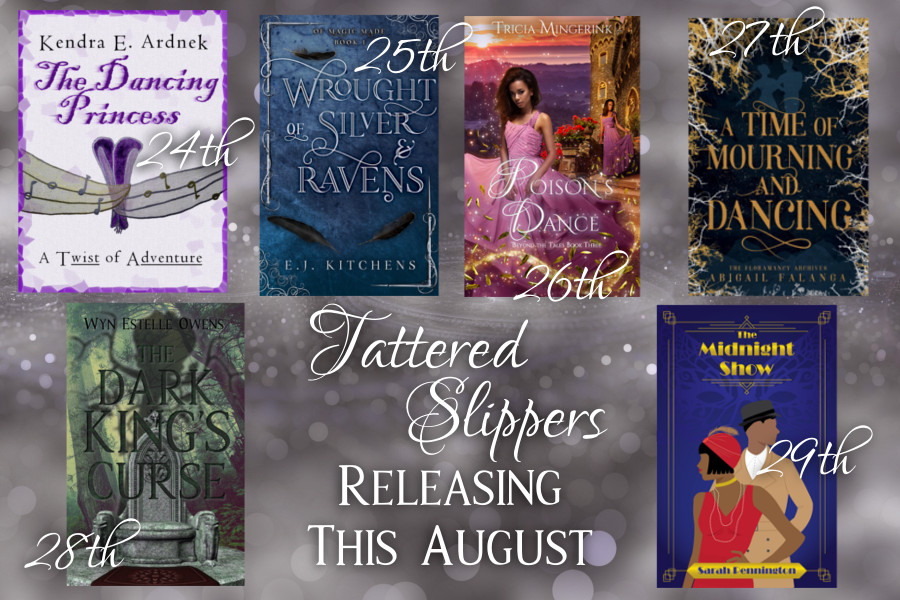 Tattered Slippers Blog Tour: Mini Interview with Author E.J.Kitchens